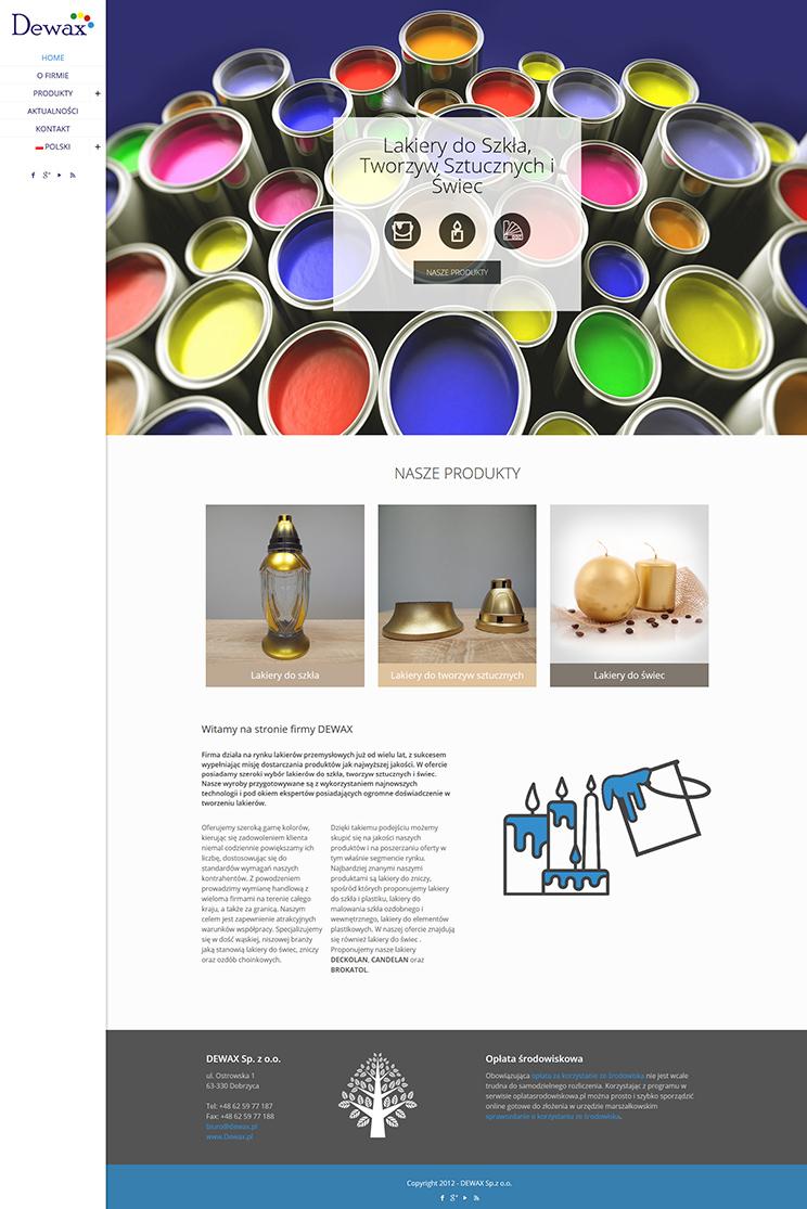 dewax-orange-lion-design-studio-wroclaw-projektowanie-stron-internetowych-grafika-fotografia-2
